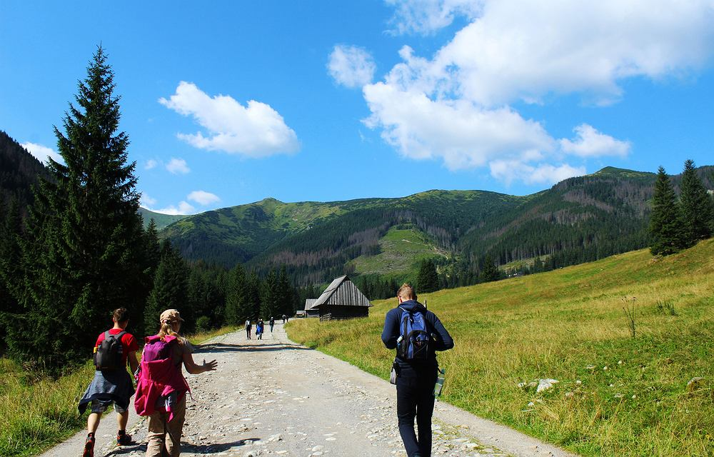 Na szlakach w Tatrach jednak bez maseczek