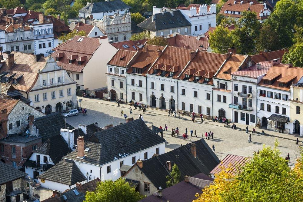 Kazimierz Dolny. Rynek