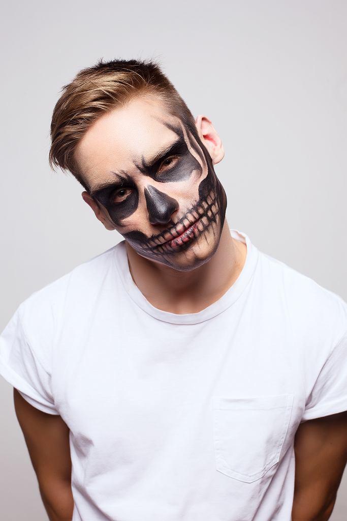 Makijaż na Halloween w męskim wydaniu