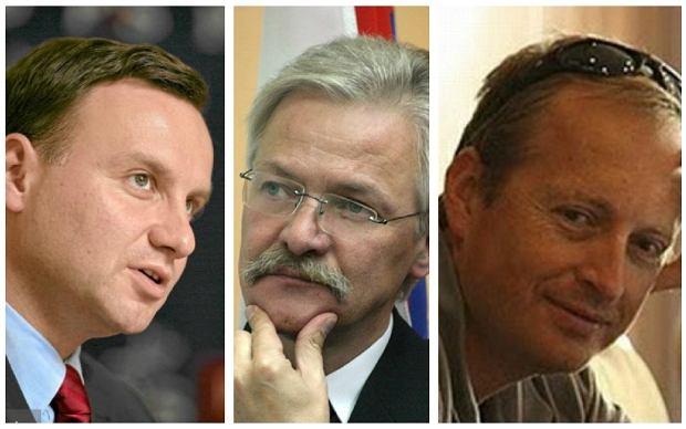 Andrzej Duda, Tadeusz Zwiefka, Konrad Piasecki