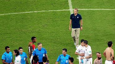Juergen Klinsmann po meczu USA - Portugalia 2:2