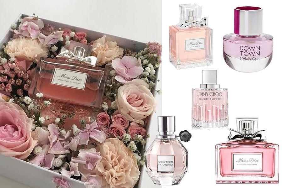 Kolaż, perfumy na wiosnę/Materiały partnera
