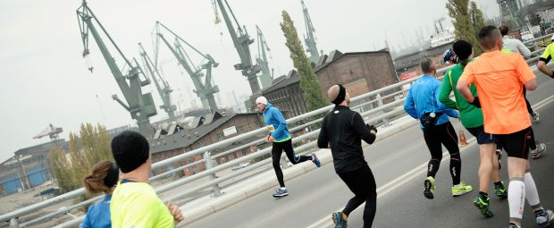Polmaraton gdansk, bieganie