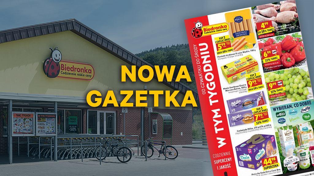 Gazetka Biedronka od 2.01 2019: bardzo tanie warzywa i owoce