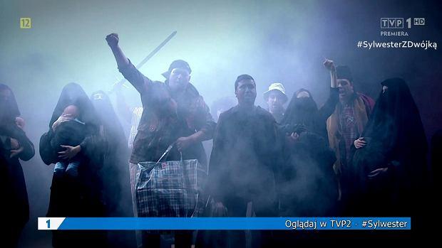 Scena z 'Szopki Noworocznej' TVP