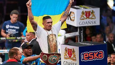Ołeksandr Usyk w 2016 roku, po pokonaniu Krzysztofa Głowackiego