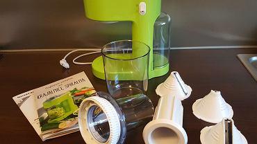 Testujemy krajalnicę do robienia makaronu z warzyw i owoców, dostępną w najnowszej ofercie Lidla. Jak to działa?