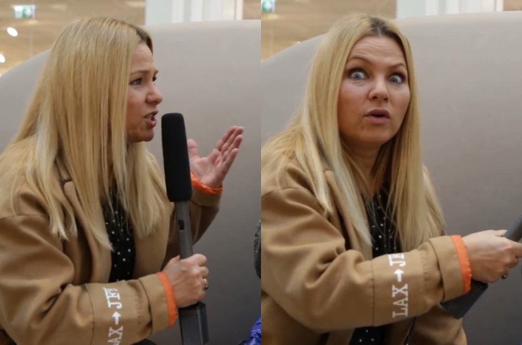 Katarzyna Bujakiewicz pyta mężczyzn o torebki