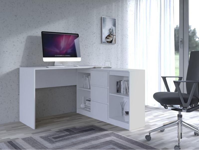 Biurko z regałem