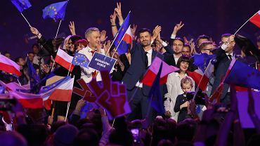 Konwencja partii Wiosna na Torwarze w Warszawie
