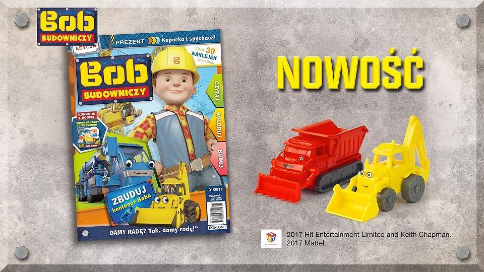 Bob Budowniczy - czasopismo wydawnictwa Egmont