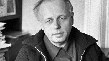 Andriej Sacharow w swoim moskiewskim mieszkaniu, rok 1973