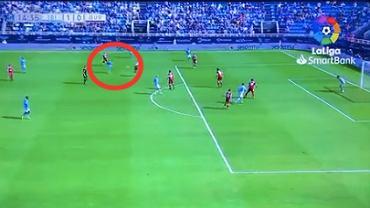 Mateusz Bogusz strzela 3 gola w UD Ibiza. Źródło: Twitter