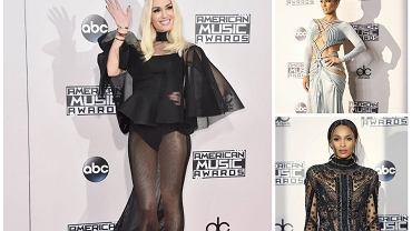American Music Awards - stylizacje gwiazd