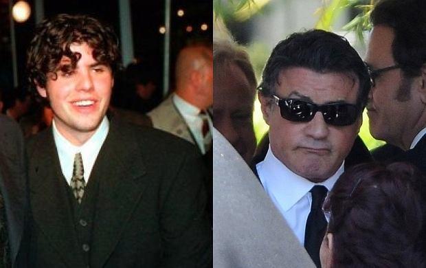 Sylvester Stallone i Sage Stallone.