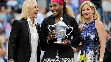 Martina Navratilova, Serena Williams i Chris Evert