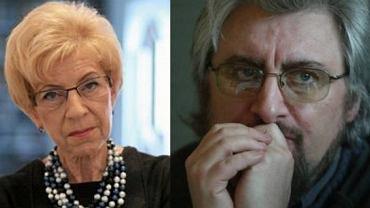 Janina Paradowska i prof. Radosław Markowski