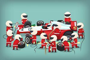 Kariera to nie wyścig F1. Ale wiraże niestety są