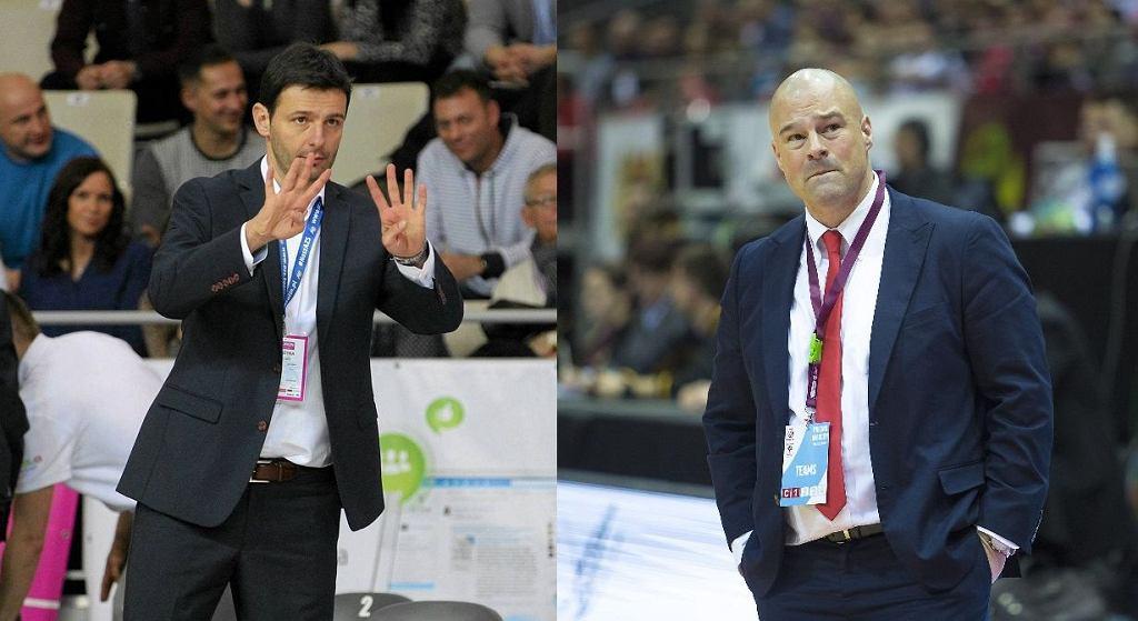 Igor Milicić i Mike Taylor - nowy i były selekcjoner reprezentacji Polski