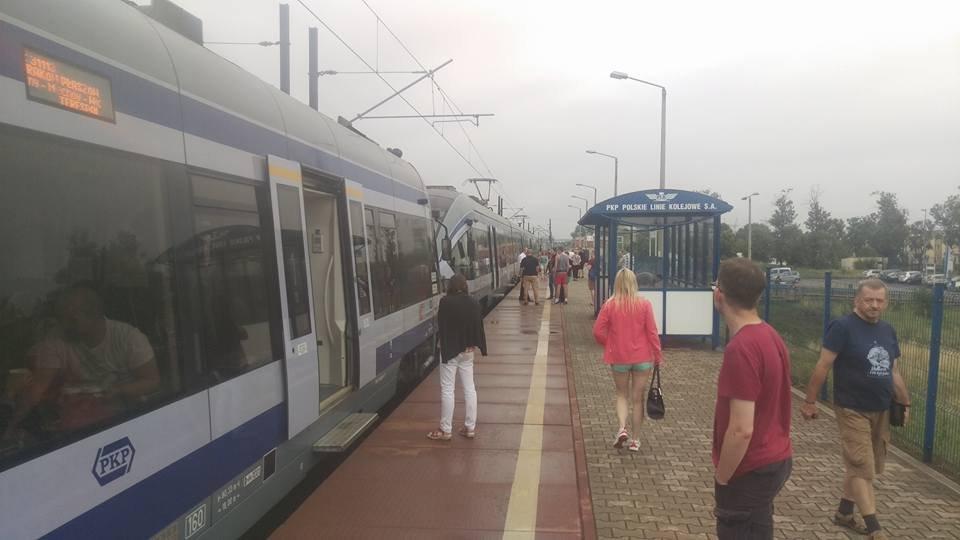 Awaria pociągu we Włoszczowej