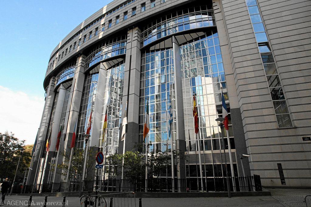 Bruksela, budynek Parlamentu Europejskiego
