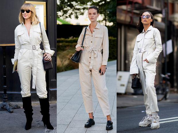 Londyn, Paryż i Nowy Jork - tam robocze kombinezony noszą już wszystkie fashionistki