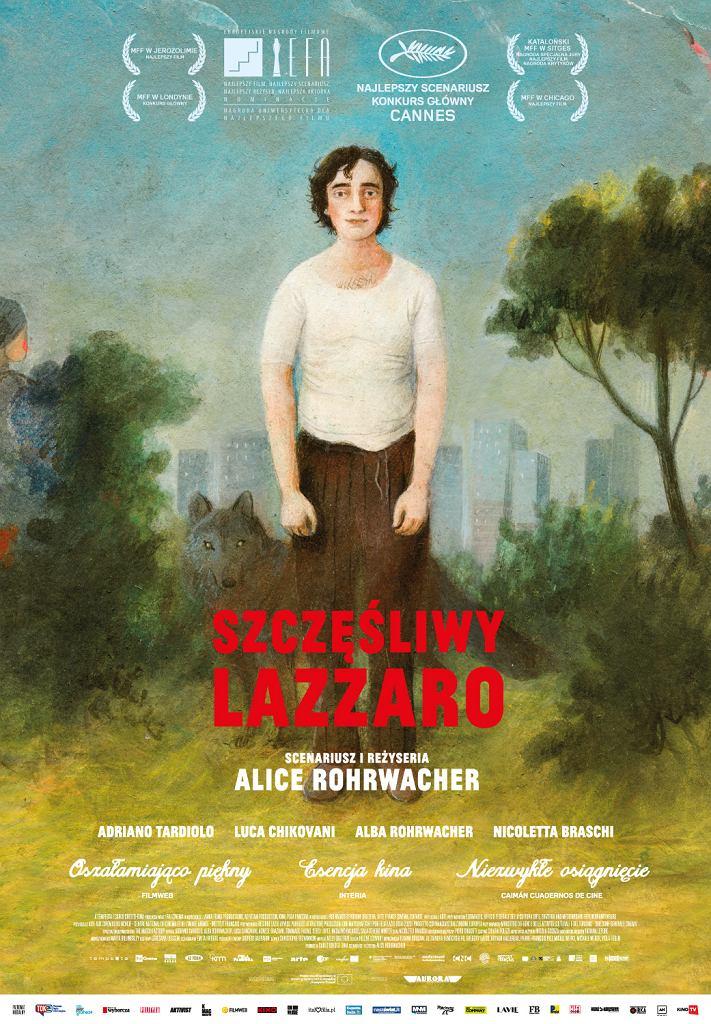 Plakat filmu 'Szczęśliwy Lazzaro'
