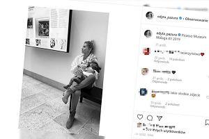 """Edyta Pazura karmi piersią córkę w muzeum. """"Nie wiem, jak wy to dalej potraficie"""""""