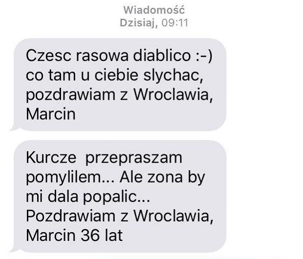 SMS-y do randek