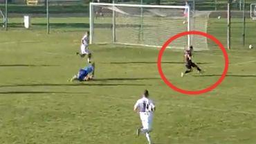 Kamil Grosicki (Pogoń Szczecin) strzela swojego pierwszego gola po powrocie. Źródło: Twitter