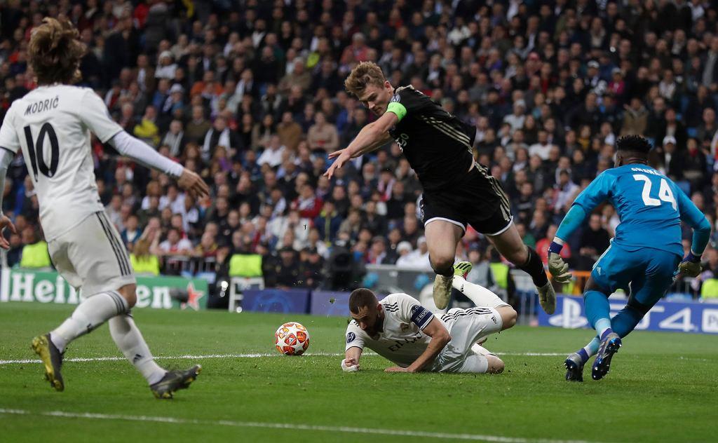 Matthijs de Ligt o zwycięstwie Ajaxu z Realem Madryt