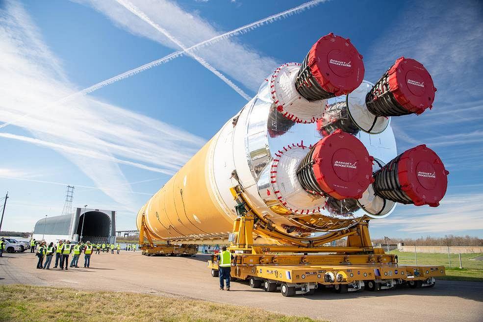 Rakieat SLS NASA