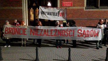 Wrocławianie w obronie sądów