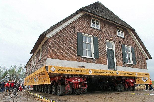 Transport budynku
