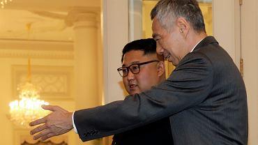 Kim Dzong Un w Singapurze