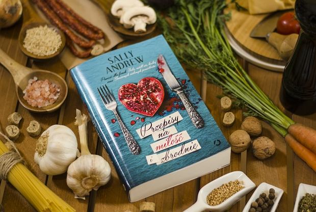 Przepis na miłość i zbrodnię, Sally Andrew, Wydawnictwo Otwarte