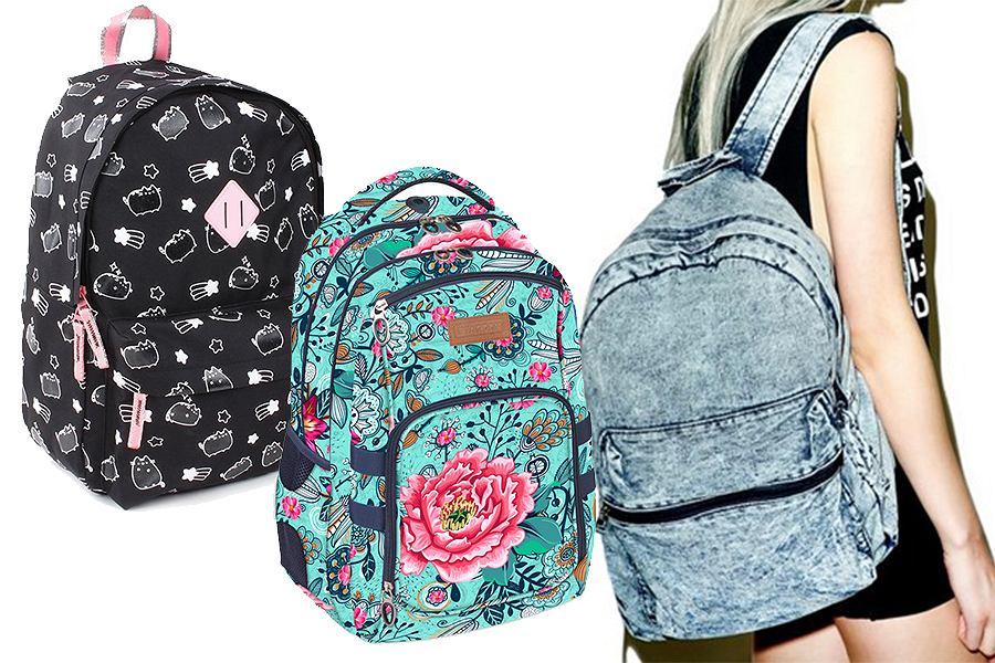 Plecaki szkolne dla dziewcząt