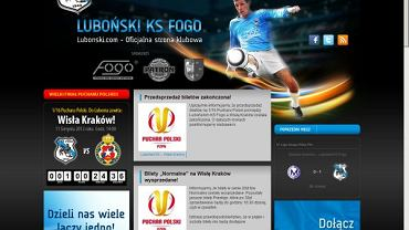 Oficjalna strona Lubońskiego KS