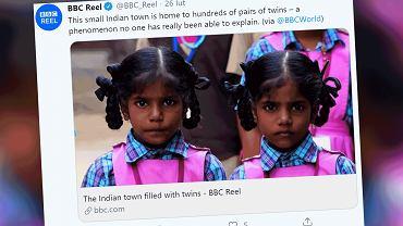 W małym miasteczku na południu Indii rodzi się mnóstwo bliźniąt. Wciąż nie wiadomo, dlaczego tak się dzieje.