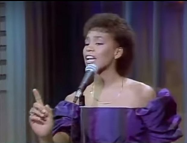 Whitney Houston - Home (The Merv Griffin Show, 1983)