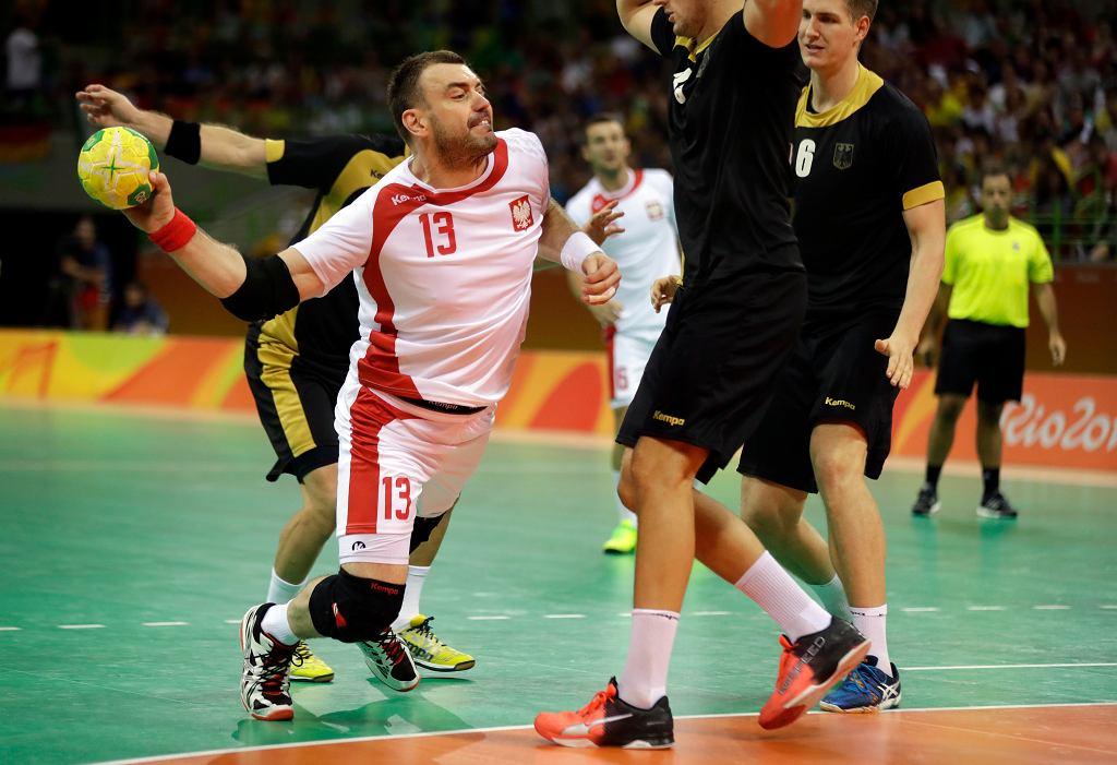 Bartosz Jurecki podczas igrzysk olimpijskich w Rio de Janeiro