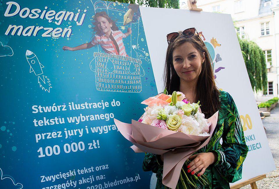 Agnieszka Syczyło, laureatka kategorii 'Tekst' w Piórku 2021,