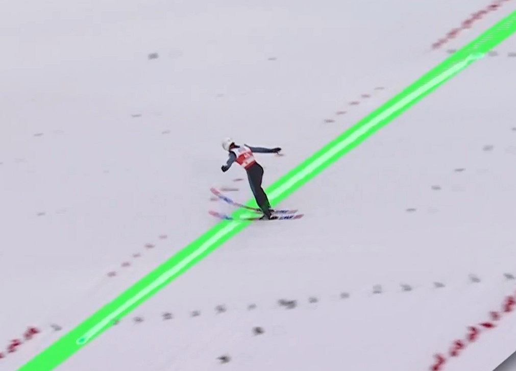 Fenomenalny skok Piotra Żyły w pierwszej serii w Oberstdorfie!