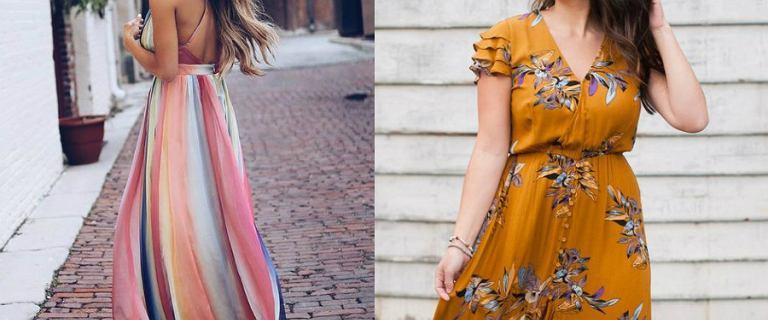 Sukienka maxi - co zrobić, by wyglądać w niej dobrze? Podpowiemy ci, jaki fason wybrać!