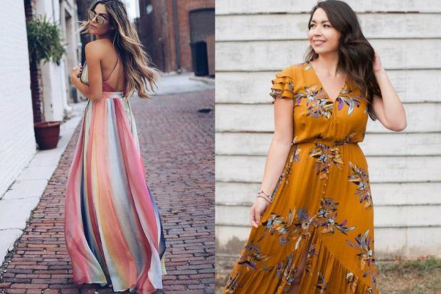 sukienki maxi