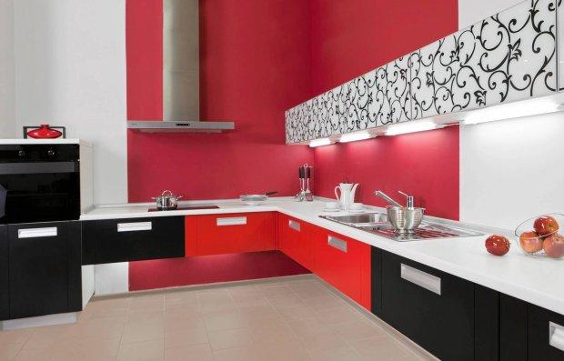 Kolor w kuchni: czerwone inspiracje