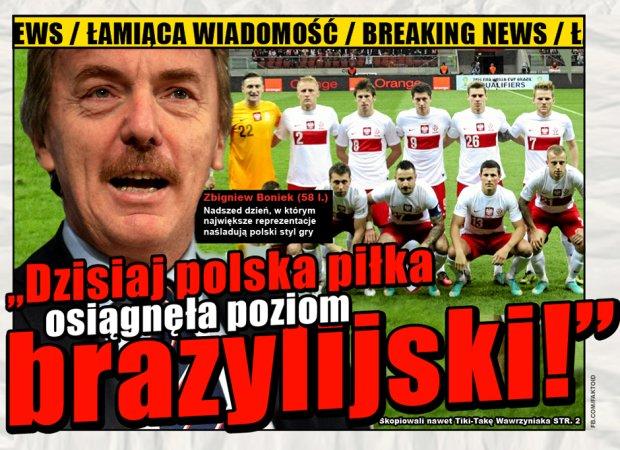 BREAKING NEWS: Polska piłka osiągnęła poziom brazylijski -  - Faktoid