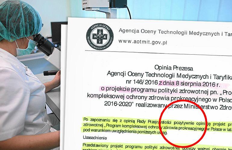 Rada zmienia opinię o naprotechnologii. W kwietniu była negatywna, w sierpniu już pozytywna