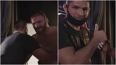Chabib Nurmagomiedow spotkał się z Janem Błachowiczem tuż po walce na UFC 259