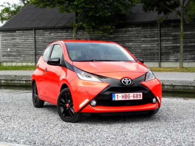 Toyota Aygo   Pierwsza jazda   X możliwości